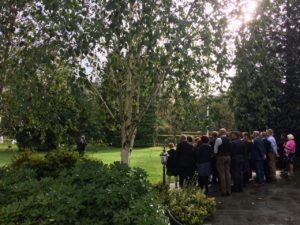 Wedding Bagpipes in Grasmere, The Lake District
