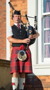 Malcolm Smith- Bagpiper for Hire at Knowsley Hall