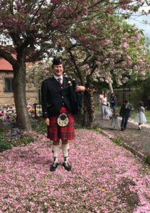 Scottish Bagpiper for Events- Skelmersdale Wedding