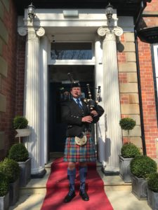Scottish Bagpipes for Weddings in Wigan